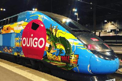 Le TGV OUIGO.